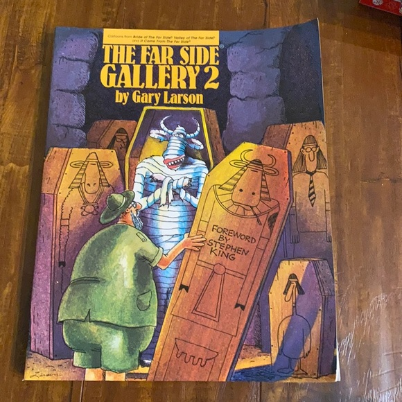 The Far Side Gallery 2  Gary Larson Comic book